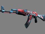 AK-47 | Буйство красок (Прямо с завода)