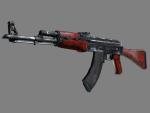 AK-47 | Красный глянец (После полевых испытаний)