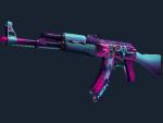 AK-47   Neon Rider (Немного поношенное)
