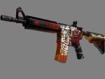 StatTrak™ M4A4 | Адское пламя (Прямо с завода)