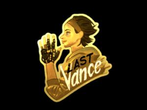 Наклейка   Last Vance (Gold)