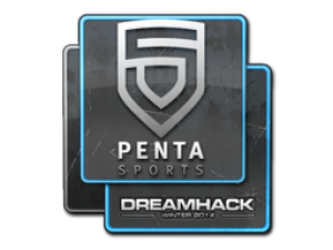 Наклейка   PENTA Sports   DreamHack 2014