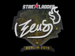 Наклейка   Zeus   Berlin 2019