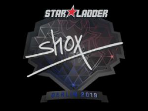 Наклейка | shox | Berlin 2019