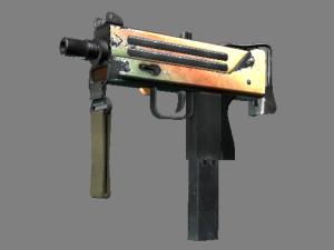 Сувенирный MAC-10 | Янтарный градиент