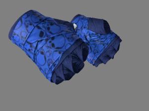 ★ Обмотки рук | Синие черепа