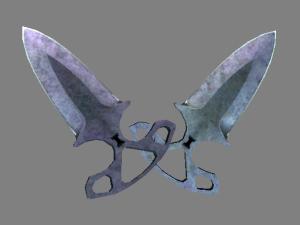 ★ Shadow Daggers | Вороненая сталь