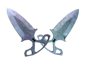 ★ Тычковые ножи | Вороненая сталь
