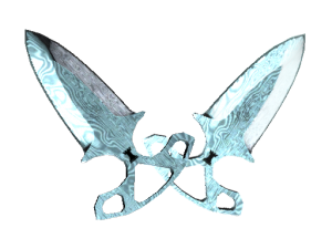 ★ Shadow Daggers   Damascus Steel