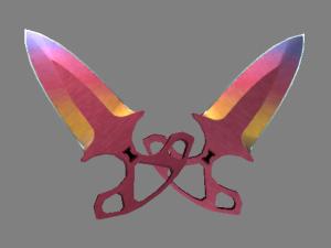 ★ Тычковые ножи | Градиент