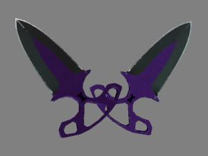 ★ Тычковые ножи | Ультрафиолет