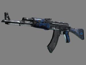 AK-47 | Синий ламинат
