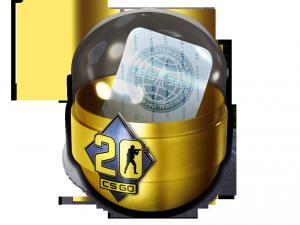 Капсула с наклейками «CS20»
