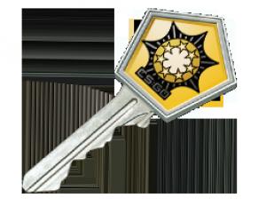 Ключ от хромированного кейса #2