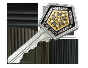 Ключ от хромированного кейса