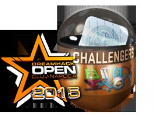 Претенденты DreamHack Cluj-Napoca 2015 (металлическая)