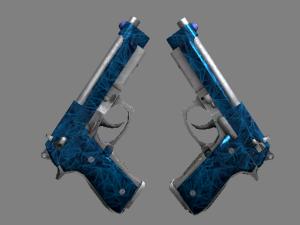 Dual Berettas | Синий кварц
