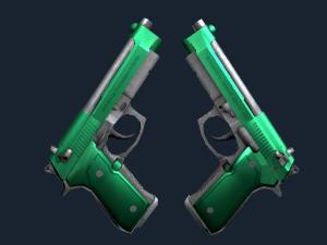 Dual Berettas | Изумруд