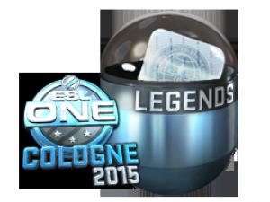 Легенды ESL One Cologne 2015 (металлическая)