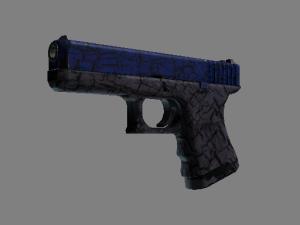Glock-18 | Синяя трещина
