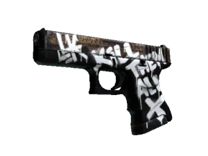 Glock-18 | Wasteland Rebel - Кейсы Дота 2