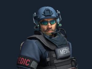 Джон «Ван Лечитт» Каск | SWAT