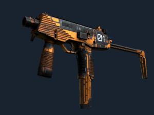 MP9 | Скромная угроза - Кейсы Дота 2
