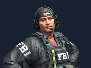 Майкл Сайферс  | ФБР: снайпер