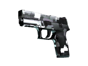 P250   Пиксельный камуфляж «Металлический»