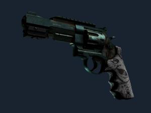 Револьвер R8 | Кованая кость
