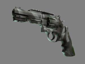 Револьвер R8 | Костяная маска