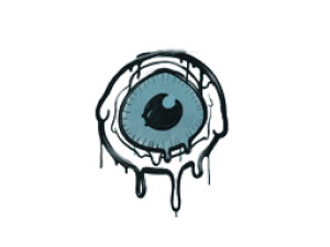 Sealed Graffiti | Eye Spy (Wire Blue)