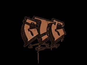 Sealed Graffiti | GTG (Tiger Orange)