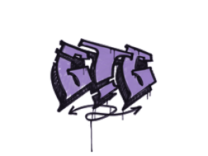 Sealed Graffiti | GTG (Violent Violet)