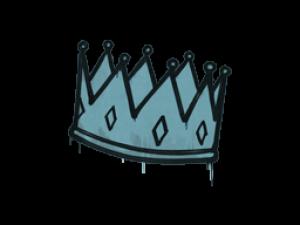 Sealed Graffiti   King Me (Wire Blue)