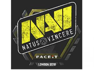 Запечатанный граффити | Natus Vincere | Лондон 2018
