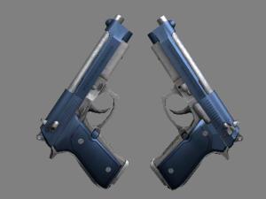 Сувенирный Dual Berettas | Анодированная синева