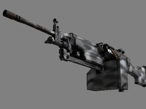 Сувенирный M249 | Контрастные цвета