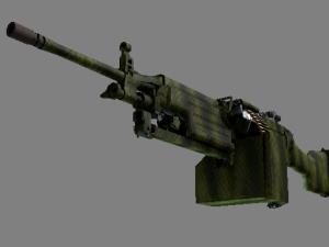 Сувенирный M249 | Крокодиловая сетка