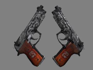 StatTrak™ Dual Berettas | Драконий дуэт