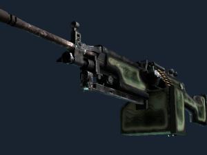 StatTrak™ M249 | Глубокий рельеф