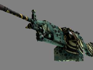 StatTrak™ M249 | Emerald Poison Dart