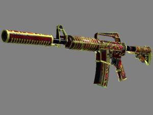 StatTrak™ M4A1-S   Огонь Чантико