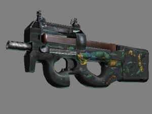 StatTrak™ P90 | Изумрудный дракон