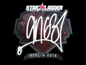 Наклейка   ANGE1 (Foil)   Berlin 2019 - Кейсы Дота 2