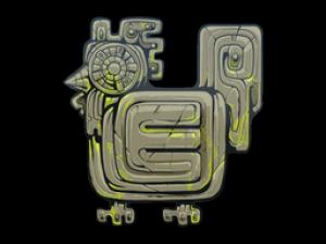 Наклейка | Древняя тварь