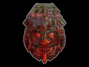 Наклейка | Ацтекская тема