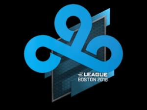 Наклейка | Cloud9 | Бостон 2018