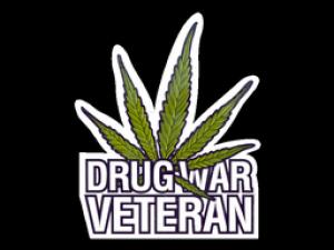 Наклейка | Ветеран нарковойн