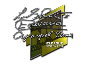 Наклейка | Edward | Бостон 2018